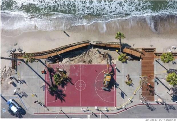 Capistrano Beach collapse