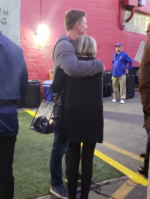 Cancer diagnosis isn't stopping mother of Rams GM Les Snead from a Super Bowl trip