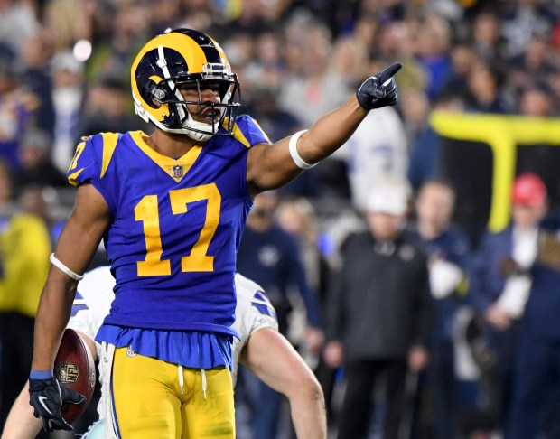 Rams' Robert Woods driven to bring Super Bowl title to L.A.