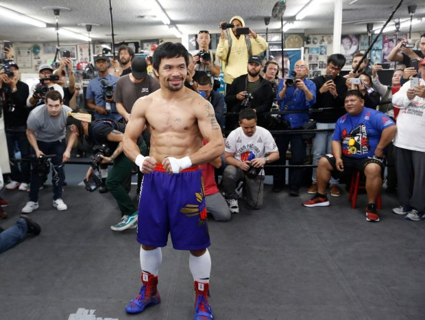 Whicker: Manny Pacquiao has a tight schedule, but retirement isn't on it