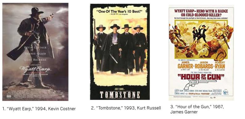 Wyatt Earp movies