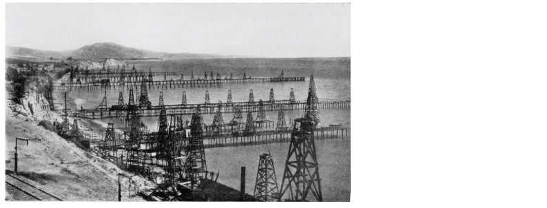 Summerland oil wells