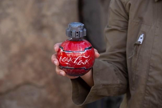 Disney unveils 'thermal detonator' Coca-Cola bottles with