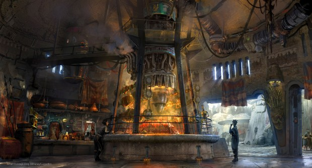 Ronto Roasters: Step inside a 'space meat' restaurant in Star Wars: Galaxy's Edge at Disneyland