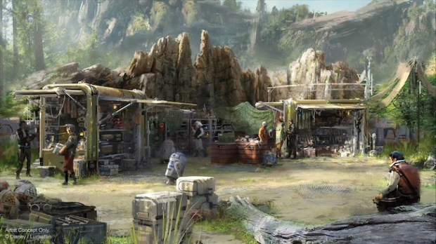 Where to shop in Disneyland's Star Wars: Galaxy's Edge? Depends on whether you're a loyalist, sympathizer or scoundrel