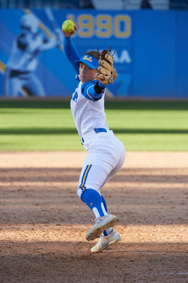 Talented pitching staff leads UCLA softball into NCAA Tournament