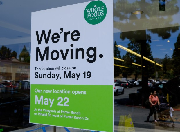 At Porter Ranch Whole Foods, everything must go, as old store closes, new one ready for the big move to The Vineyards