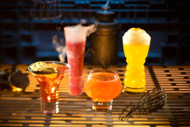 Need a drink after waiting to get into Star Wars: Galaxy's Edge? Oga's Cantina will open at 8 a.m. with stiff alien cocktails