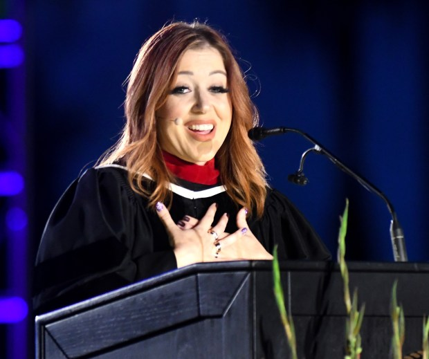 In-N-Out owner Lynsi Snyder-Ellingson gives grads life advice (and gift cards) at Biola's graduation