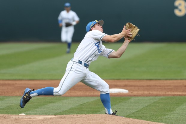 Whicker: How UCLA SS Matt McLain struggled and still thrived