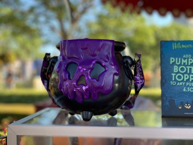 Disneyland rolls out Mickey pumpkin and black cauldron popcorn buckets for Halloween Time