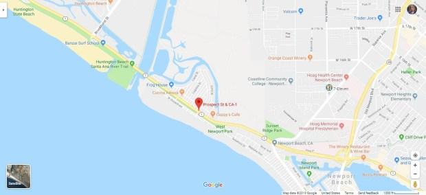 Suspected Stolen Bmw Crashes Into Newport Beach Building Orange County Register