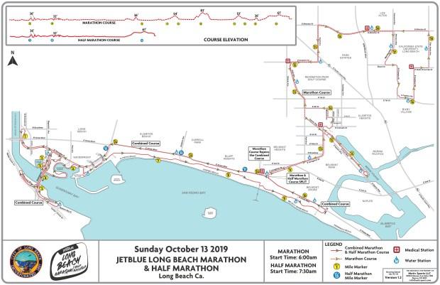 Long Beach Marathon 2019: A schedule of the races, course ...