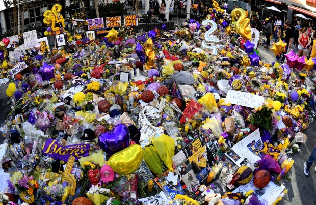 No tickets for Monday's Kobe memorial? Stay clear of Staples, officials say