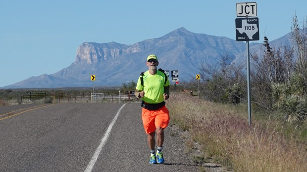 This guy is running 2,830 miles from Disneyland to Disney World — from coast to coast and mouse to mouse