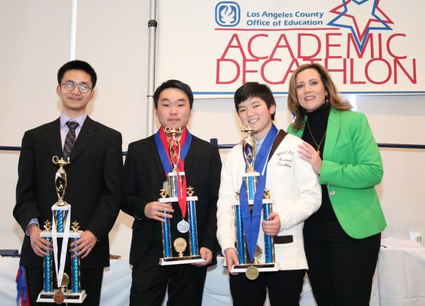 Alhambra's Mark Keppel High wins L.A. County Academic Decathlon; Alhambra High is second