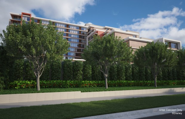 Disneyland reveals new details about planned Disney Vacation Club time-share tower