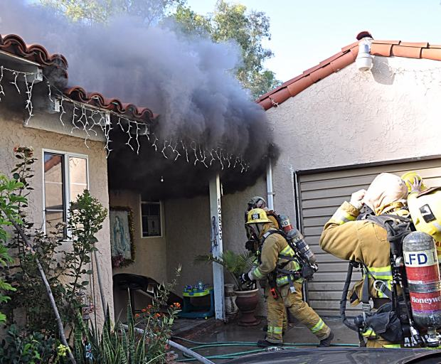 Man seriously burned in Pacoima fire