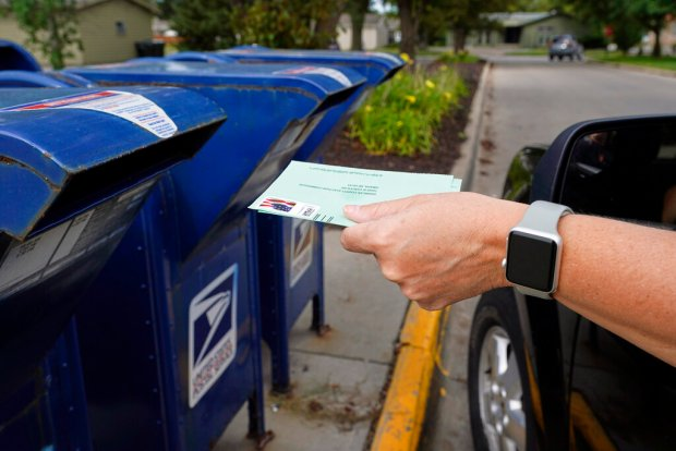 With fake ballot drop-off boxes popping up in LA County, here's how to get to the real ones
