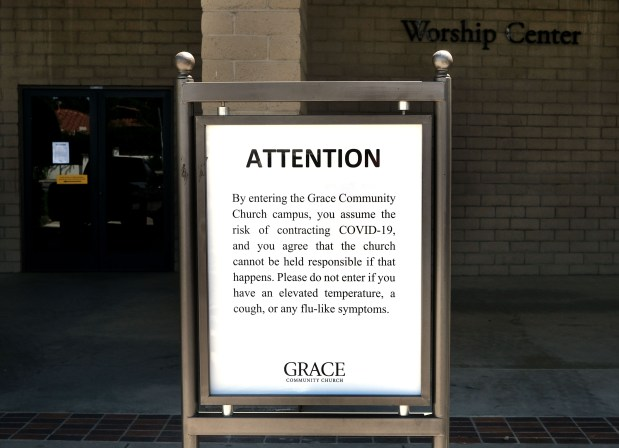 Sun Valley church and LA County trade lawsuits in battle over indoor worship services