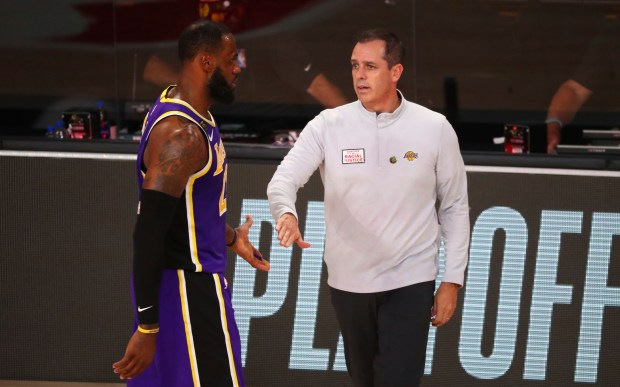 Amid Lakers' success, Frank Vogel has played an understated, essential role