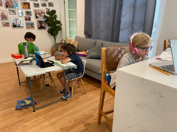 Parents turn to pods for distant learning
