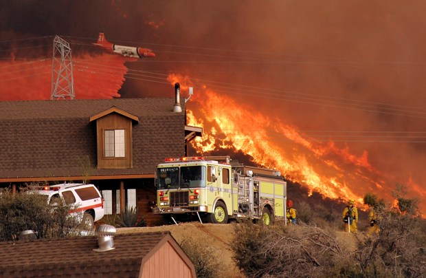 Where Bobcat fire fits among LA County's largest wildfires of past century
