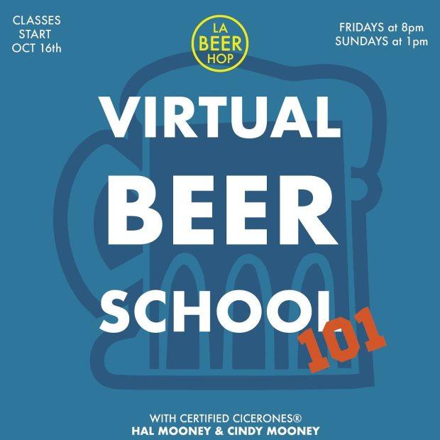 LA Beer Hop presents their Virtual Beer School classes