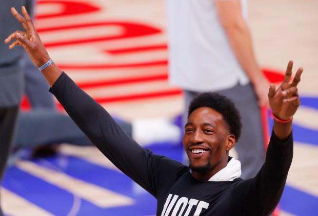 Injured Miami Heat stars Goran Dragic and Bam Adebayo unsure of status, frustrated