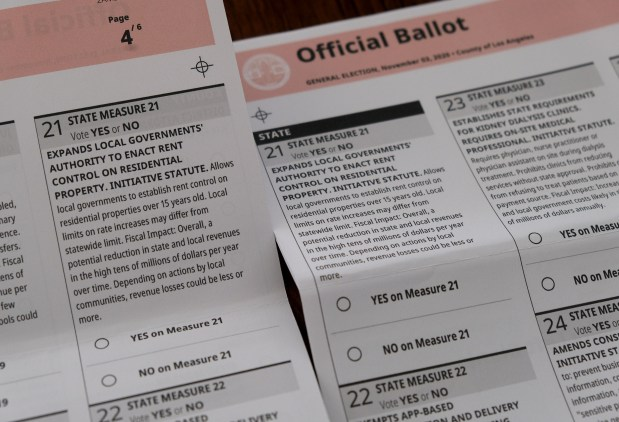 Botched ballots for Nov. 3 election mailed to Woodland Hills precinct; new ones on the way