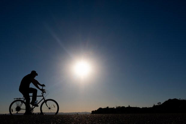 Southern California soaks up sun on winter solstice
