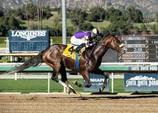 Medina Spirit shows no quit in winning Robert B. Lewis Stakes at Santa Anita