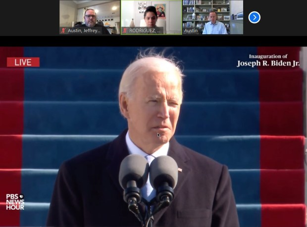 LAUSD students discuss political climate as Biden becomes president