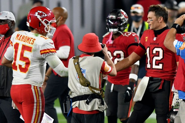 Tom Brady vs. Patrick Mahomes: It's been an even battle so far