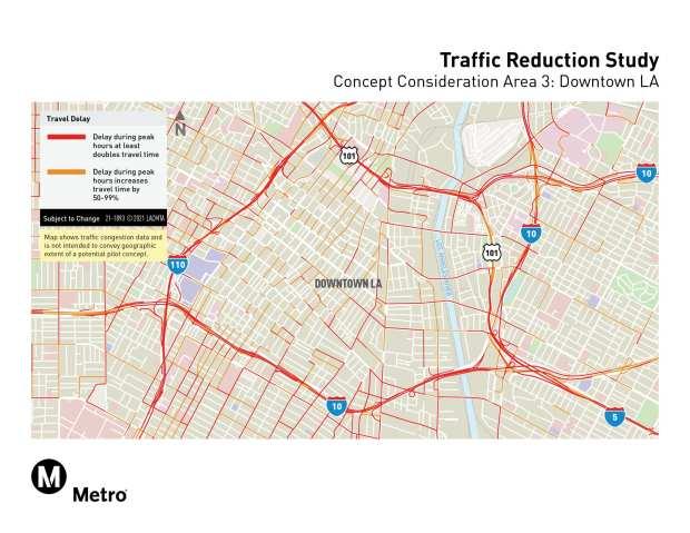 Metro congestion pricing sites, concept 3
