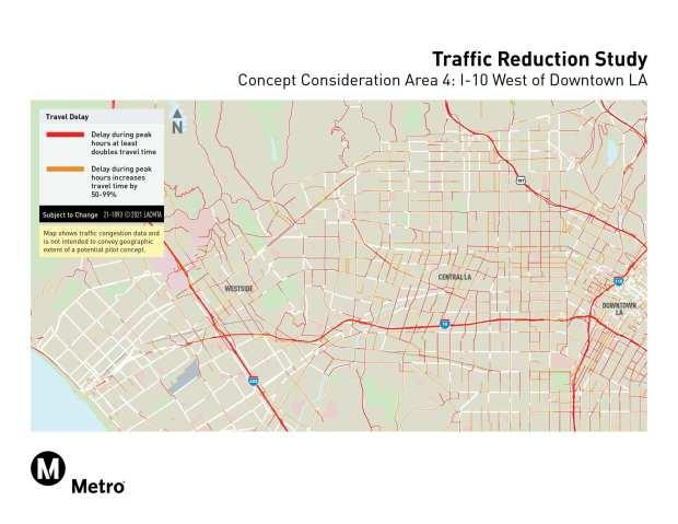 Metro congestion pricing sites, concept 4