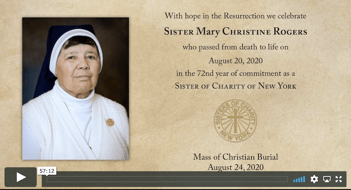 Funeral Mass for Sr. Mary Christine Rogers