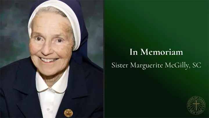 Sr. Marguerit McGilly, SC