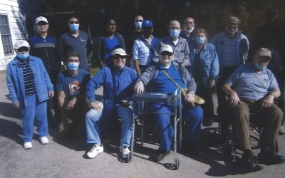 Jesuits and Company Visit Sisters Hill Farm