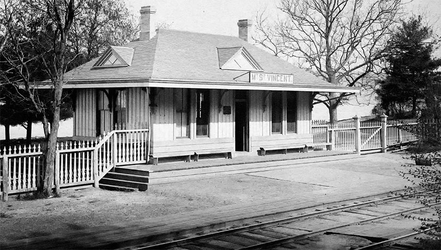 Mount Saint Vincent Station House and St. Vincent's Point