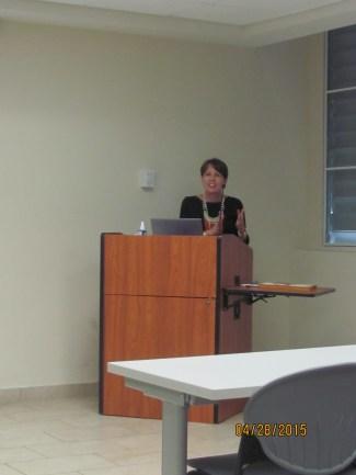 Prof. María T. Jiménez, Department Chair