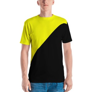 Ancapistan Wrap-Around Flag T-Shirt