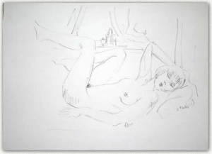 Artist: Solomon Cohen Title: Artist\'s Wife 2