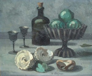 Artist: Fred Sexton Title: Still Life Size: 15in x 18in Signed: Yes