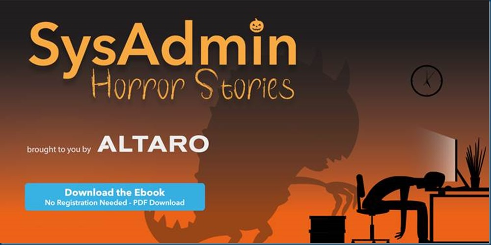 SysAdmin Horror Stories – FREE eBook