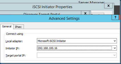Right way to configure #ISCSI #initiator in #Windows Server