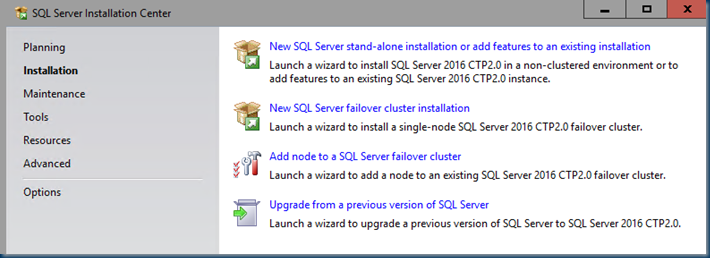 Windows Server 2016 is there and SQL server 2016
