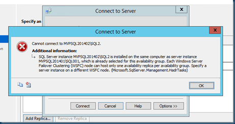 SQL Server 2014 Failover Clustered Instance (FCI)
