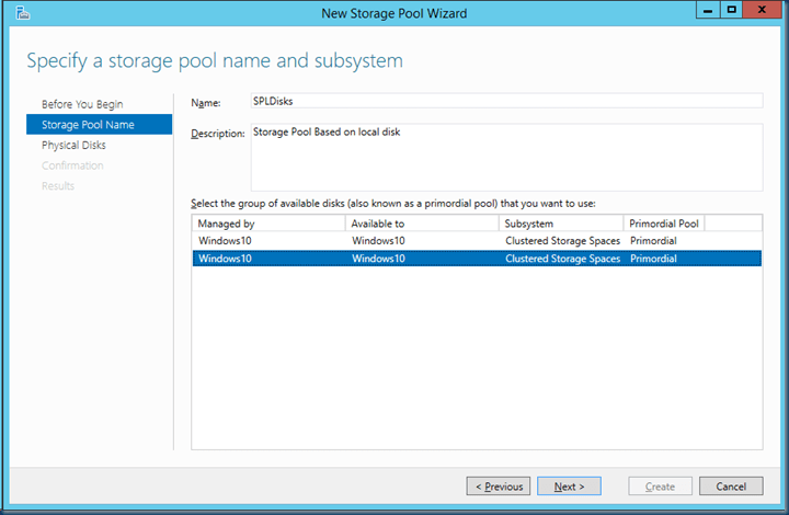 Windows Server 2016 with Storage Spaces Direct