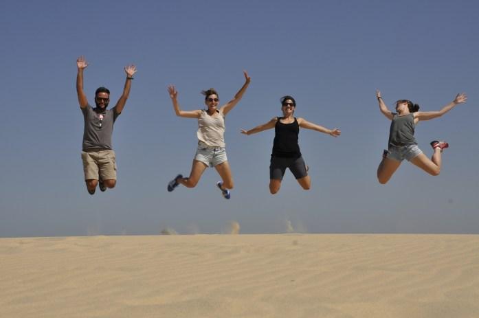 Scomfort zone viaggio zaino in spalla allenarsi a essere liberi andalusia